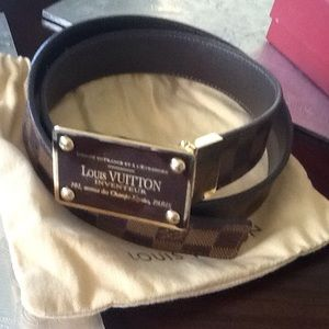 Beutiful Louis Vuitton belt